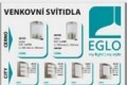 Akce Eglo - venkovní svítidla